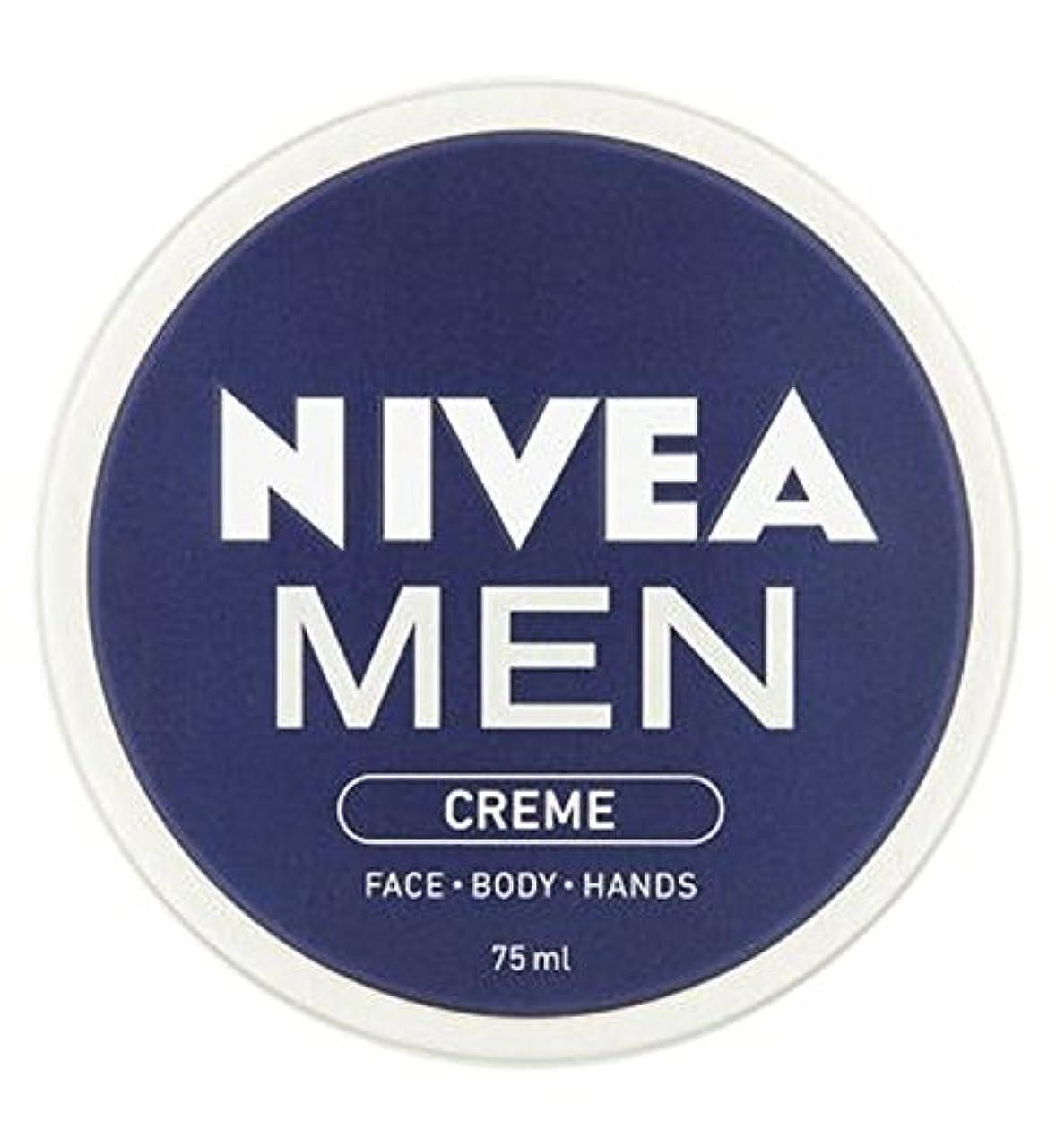 道路呼びかける大西洋NIVEA MEN Creme 75ml - ニベアの男性は75ミリリットルをクリーム (Nivea) [並行輸入品]