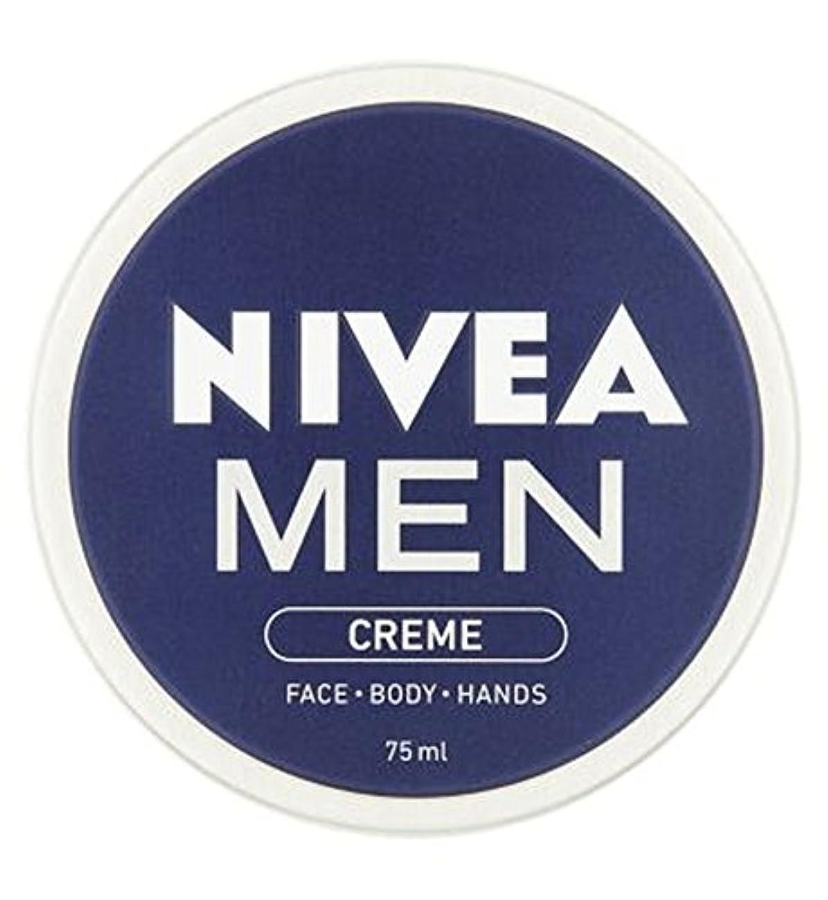 NIVEA MEN Creme 75ml - ニベアの男性は75ミリリットルをクリーム (Nivea) [並行輸入品]