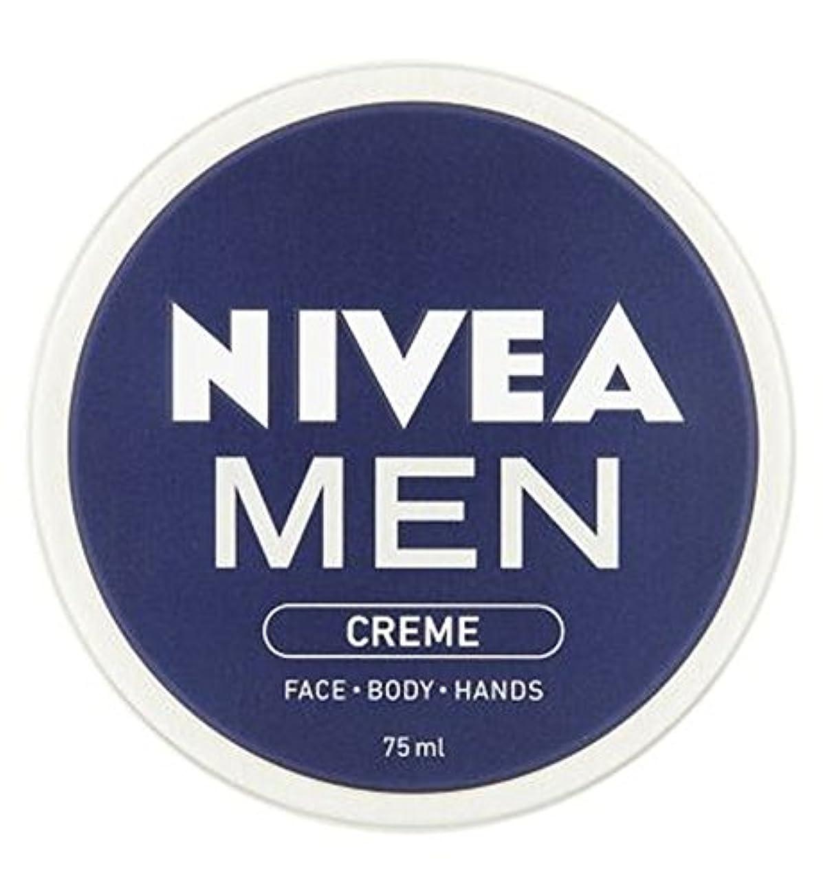 慎重にポルトガル語バラエティNIVEA MEN Creme 75ml - ニベアの男性は75ミリリットルをクリーム (Nivea) [並行輸入品]