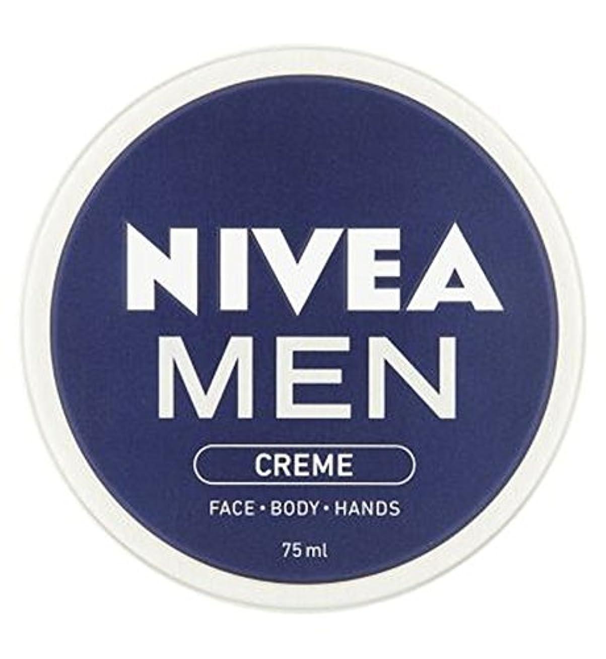 レガシー姉妹機動ニベアの男性は75ミリリットルをクリーム (Nivea) (x2) - NIVEA MEN Creme 75ml (Pack of 2) [並行輸入品]