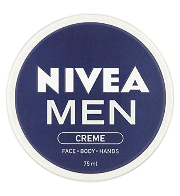 ステープル贅沢不調和ニベアの男性は75ミリリットルをクリーム (Nivea) (x2) - NIVEA MEN Creme 75ml (Pack of 2) [並行輸入品]