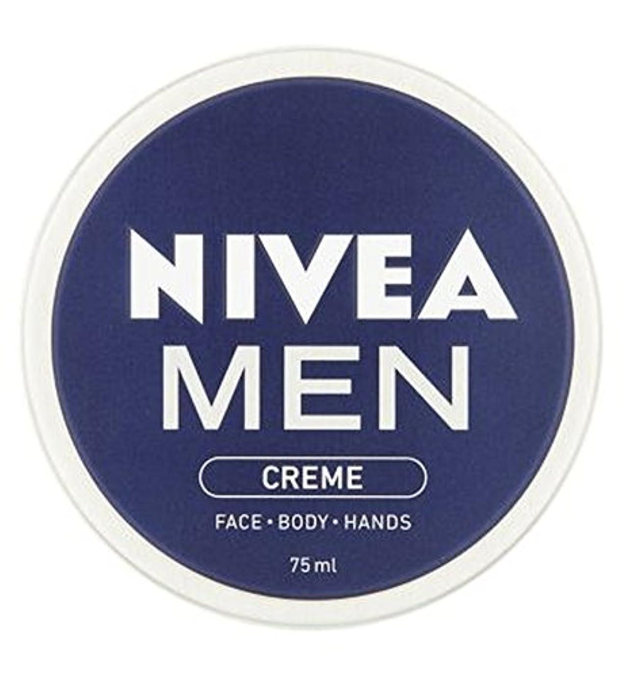 感情のきれいにセッションニベアの男性は75ミリリットルをクリーム (Nivea) (x2) - NIVEA MEN Creme 75ml (Pack of 2) [並行輸入品]