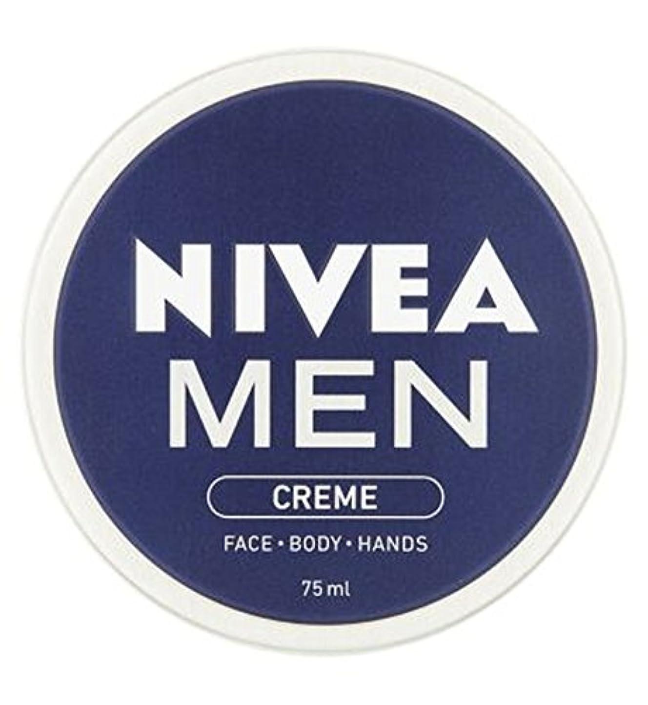罪人曲げるごちそうニベアの男性は75ミリリットルをクリーム (Nivea) (x2) - NIVEA MEN Creme 75ml (Pack of 2) [並行輸入品]