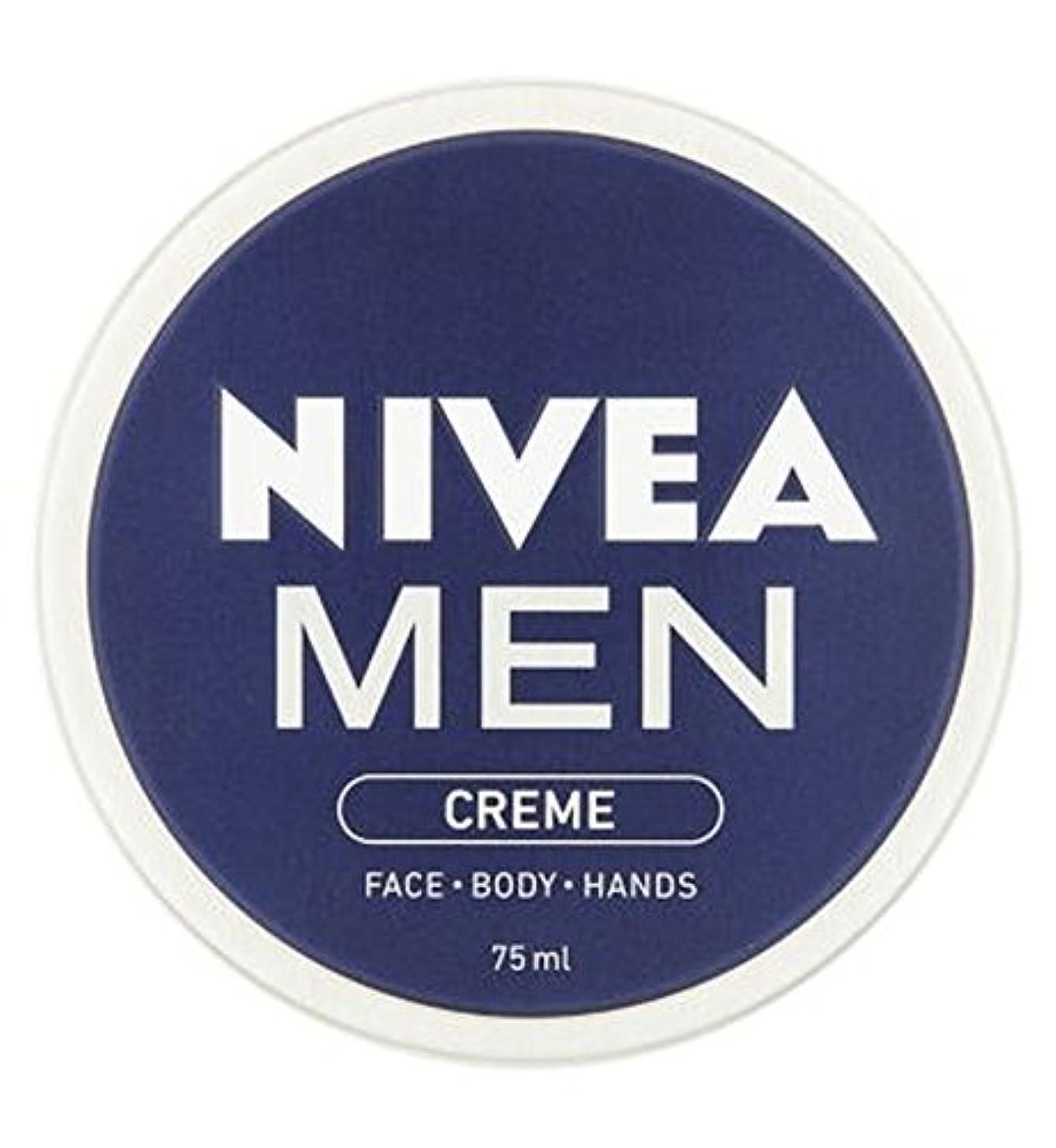 シュートカウンタ富NIVEA MEN Creme 75ml - ニベアの男性は75ミリリットルをクリーム (Nivea) [並行輸入品]