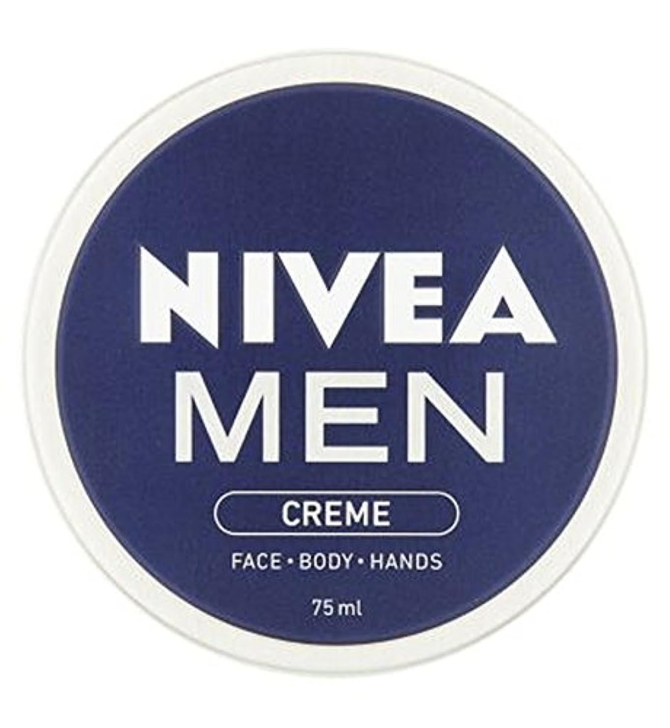 スリップシューズオープニング建設ニベアの男性は75ミリリットルをクリーム (Nivea) (x2) - NIVEA MEN Creme 75ml (Pack of 2) [並行輸入品]