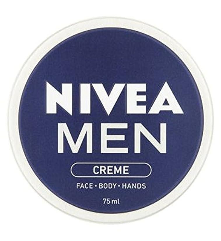 遠征ジョージエリオット吸い込むNIVEA MEN Creme 75ml - ニベアの男性は75ミリリットルをクリーム (Nivea) [並行輸入品]