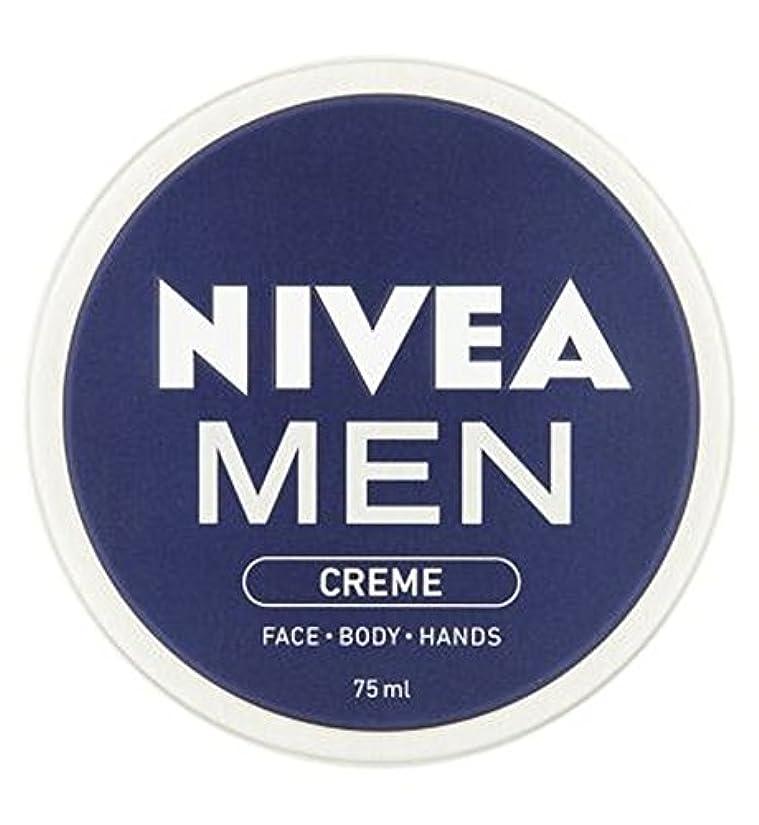 補足引き算主観的NIVEA MEN Creme 75ml - ニベアの男性は75ミリリットルをクリーム (Nivea) [並行輸入品]