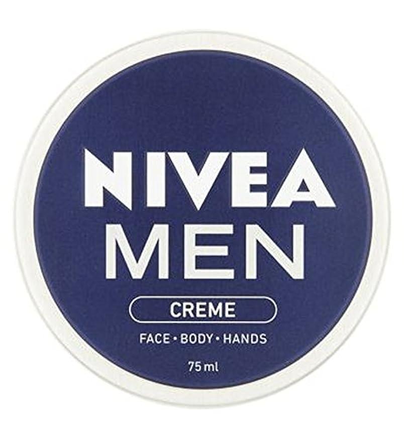 眉をひそめる甲虫まとめるNIVEA MEN Creme 75ml - ニベアの男性は75ミリリットルをクリーム (Nivea) [並行輸入品]