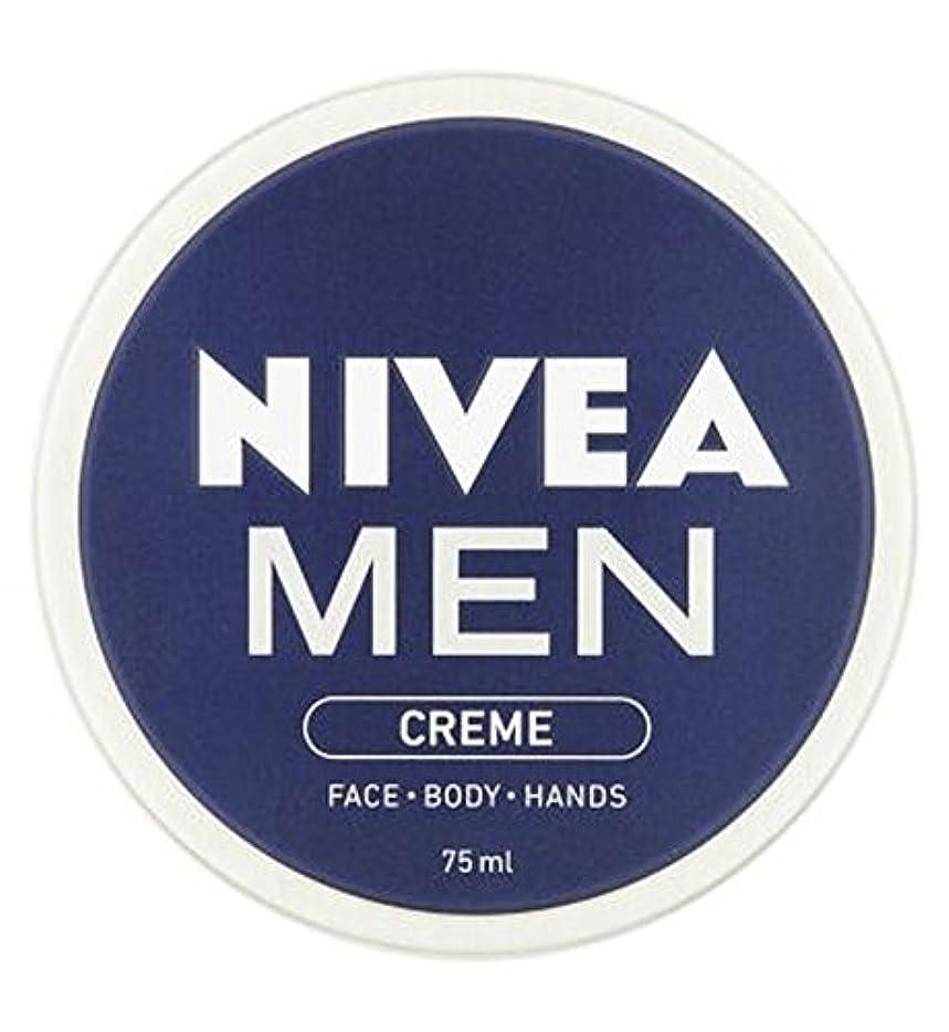 有毒な直径シーンNIVEA MEN Creme 75ml - ニベアの男性は75ミリリットルをクリーム (Nivea) [並行輸入品]