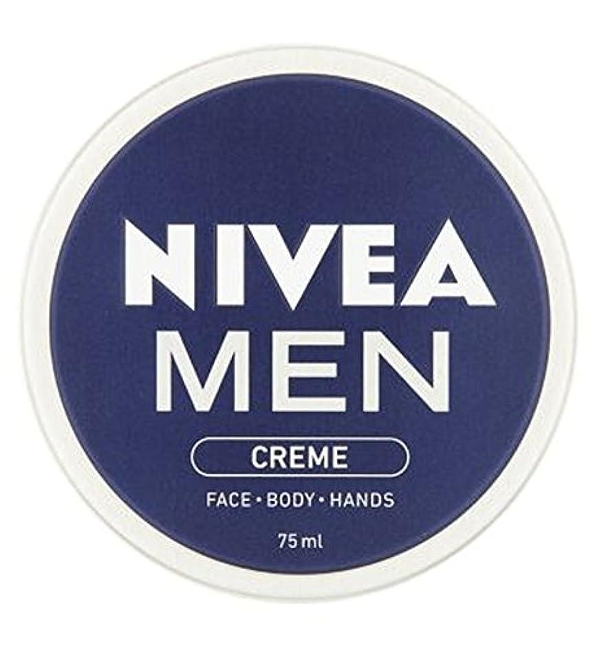 東ティモールそこから軽くニベアの男性は75ミリリットルをクリーム (Nivea) (x2) - NIVEA MEN Creme 75ml (Pack of 2) [並行輸入品]