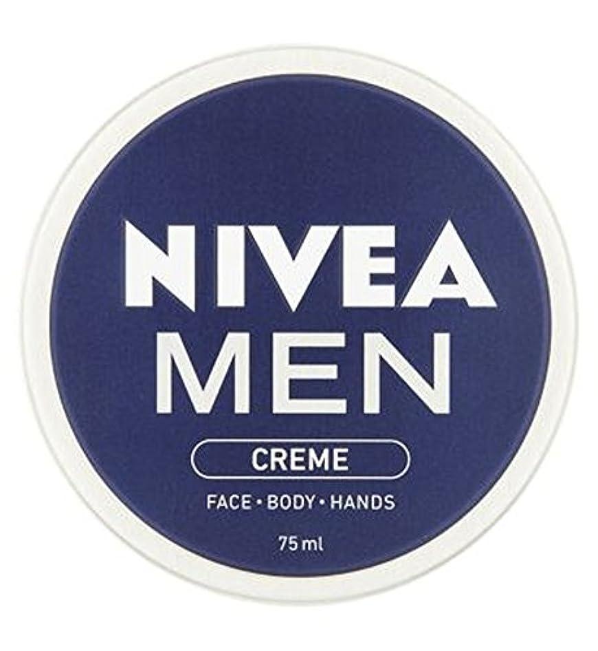 プリーツディレイマリナーニベアの男性は75ミリリットルをクリーム (Nivea) (x2) - NIVEA MEN Creme 75ml (Pack of 2) [並行輸入品]
