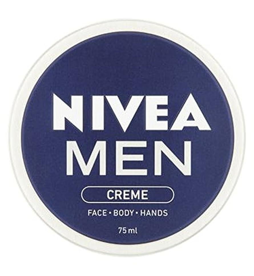 驚くばかりリングバック店員NIVEA MEN Creme 75ml - ニベアの男性は75ミリリットルをクリーム (Nivea) [並行輸入品]