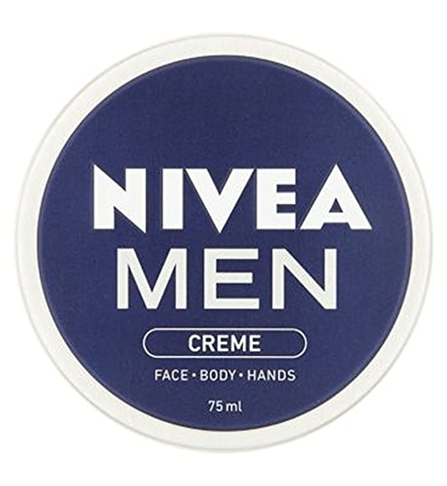 意見粘性の見つけるニベアの男性は75ミリリットルをクリーム (Nivea) (x2) - NIVEA MEN Creme 75ml (Pack of 2) [並行輸入品]