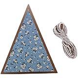 Lehao 三角旗 ガーランド フラッグガーランド エスニック柄 華やか おしゃれ バースデー 結婚式 お祝い パーティ デコレーション お部屋 飾り 壁飾り