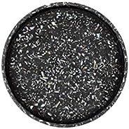 ZAKKIA Terrazzo Round Tray Terrazzo Round Tray, Black Seashell