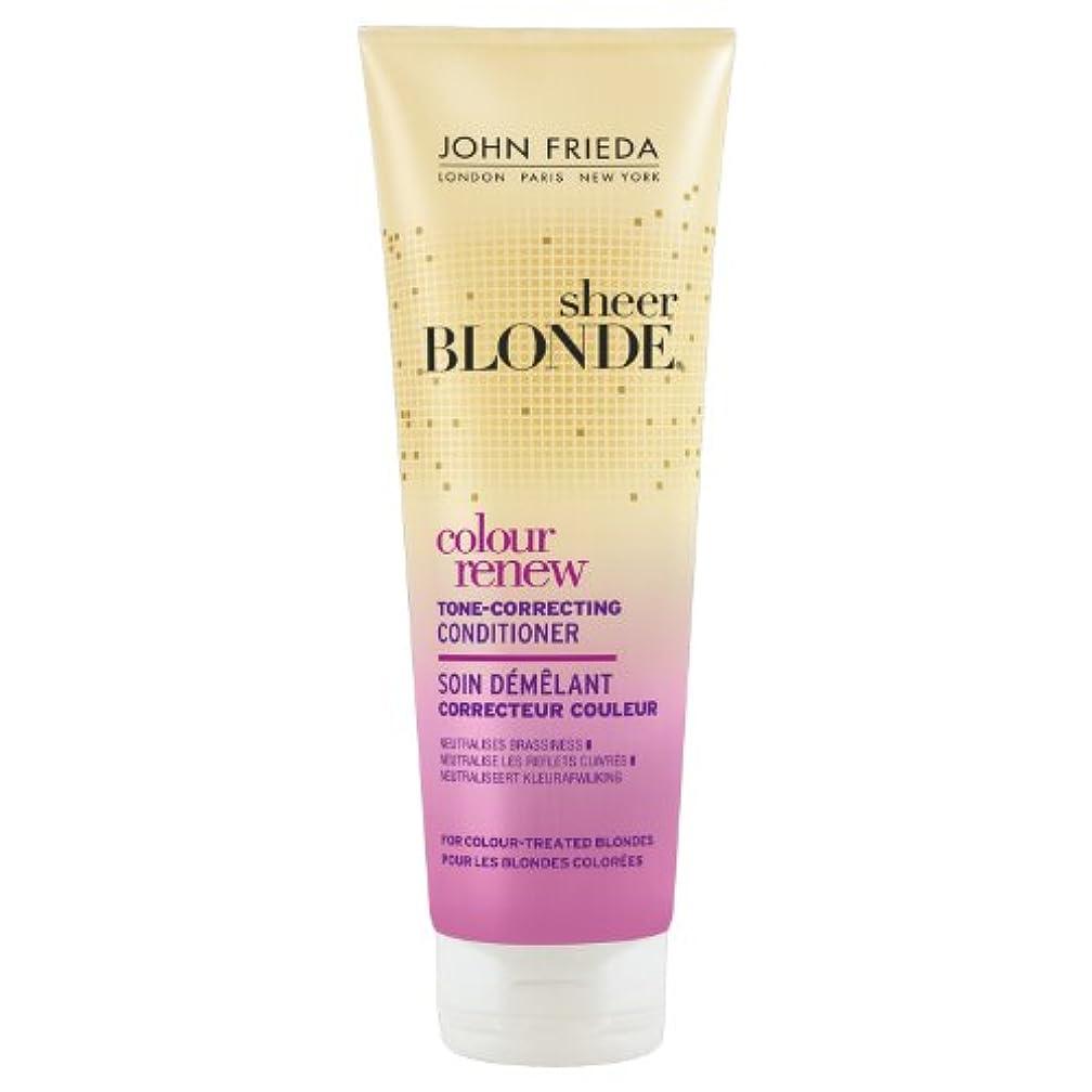ミリメートルドライバ生き返らせるJohn Frieda Sheer Blonde Colour Renew Conditioner 250ml