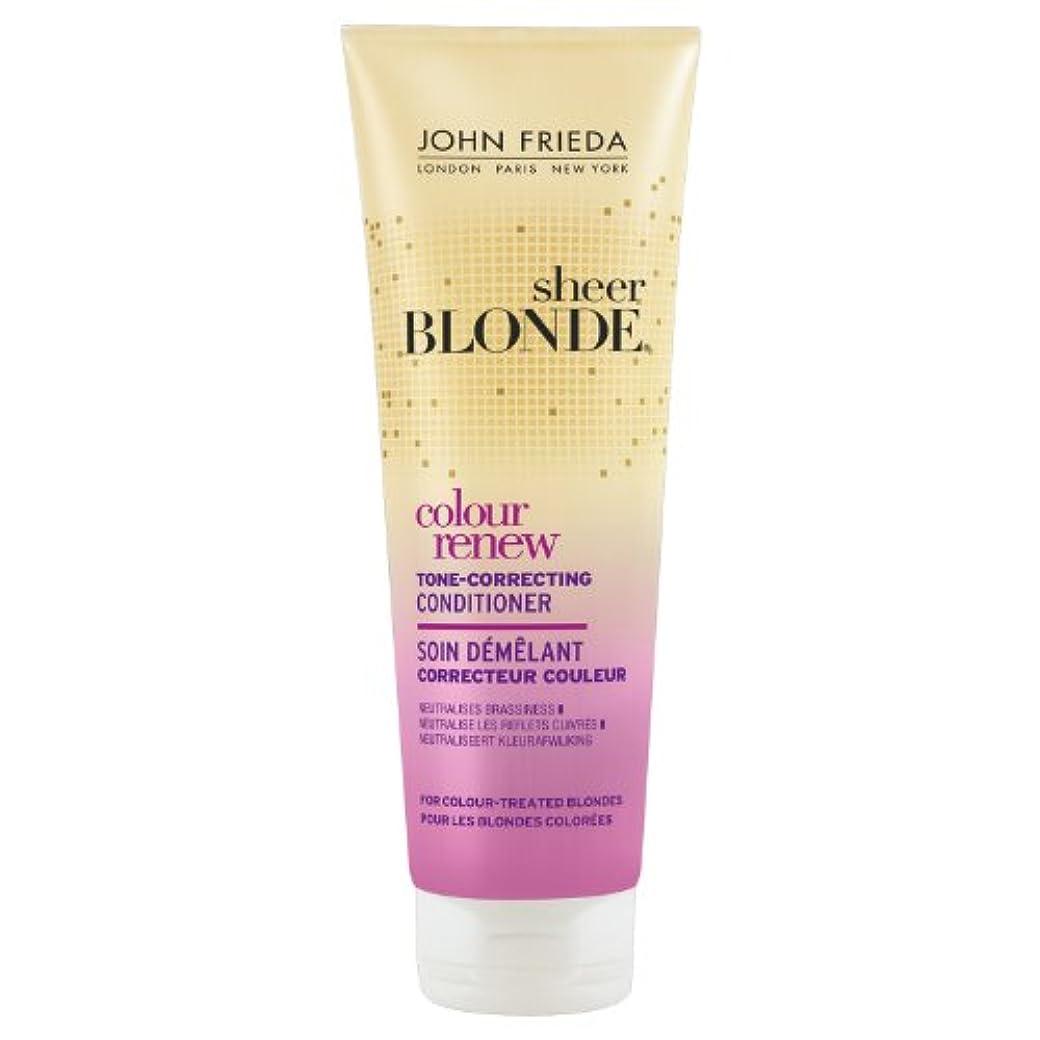 浸漬誠実同性愛者John Frieda Sheer Blonde Colour Renew Conditioner 250ml