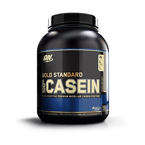 100%ゴールドスタンダードカゼインプロテイン (クッキーとクリーム  4 lbs) 海外直送品