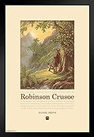 ピラミッドアメリカ ロビンソン クルソー ダニエル デフォー 風景アートプリント アートプリント 14x20 inches ブラック 273268