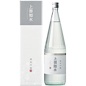 白瀧酒造 上善如水 純米吟醸 瓶 1800ml [新潟県/辛口]