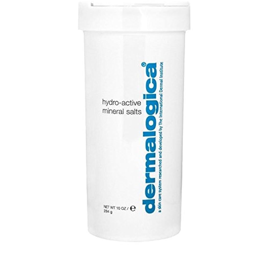 皿司法暫定Dermalogica Hydro Active Mineral Salt 284g (Pack of 6) - ダーマロジカ水力アクティブミネラル塩284グラム x6 [並行輸入品]