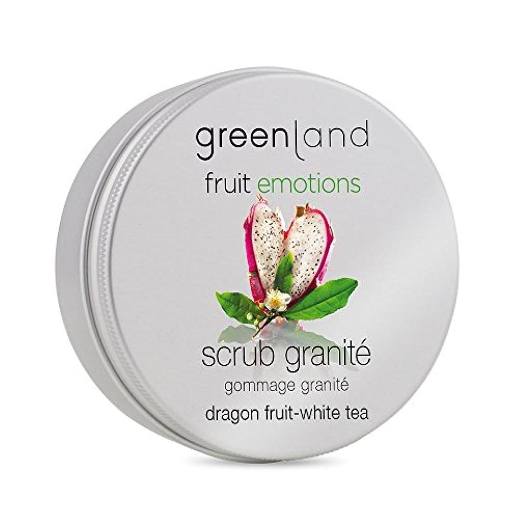 促進する眼トレーダーgreenland [FruitEmotions] ボディスクラブ 200ml ドラゴンフルーツ&ホワイトティー FE0428