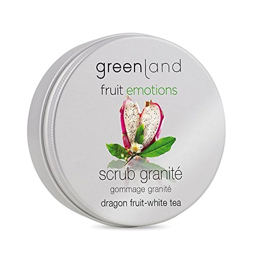 ジャーナル研究増幅するgreenland [FruitEmotions] ボディスクラブ 200ml ドラゴンフルーツ&ホワイトティー FE0428