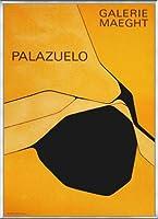 ポスター パブロ パラツェロ Orange Et Noir(1963) 額装品 アルミ製ベーシックフレーム(シルバー)