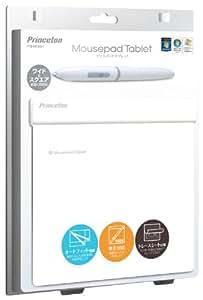 プリンストンテクノロジー マウスパッドタブレット ワイドモニタ対応(ホワイト) PTB-MT2WH