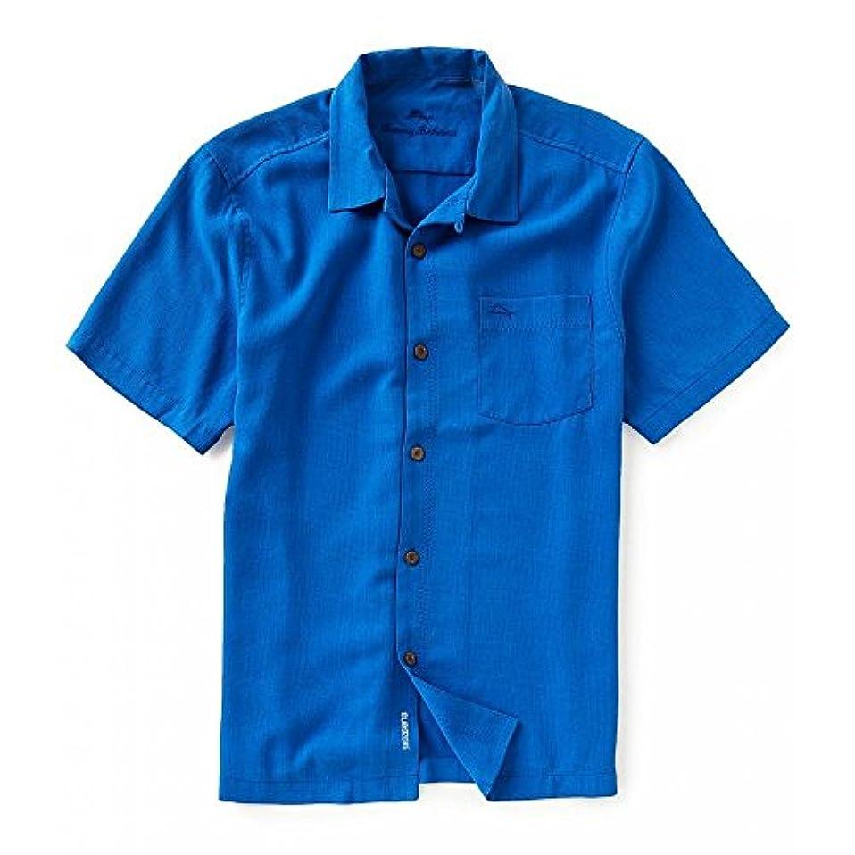 組み立てるつぶやきホバート(トミー バハマ) Tommy Bahama メンズ トップス 半袖シャツ IslandZone Short-Sleeve Tropicool Marlin-Embroidered Shirt [並行輸入品]