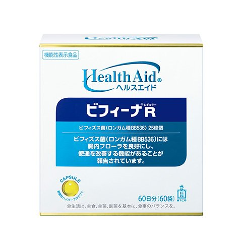 森下仁丹 ヘルスエイド® ビフィーナR(レギュラー)60日分 [機能性表示食品] ビフィズス菌 乳酸菌