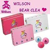 Wilson(ウィルソン) ベアー レディース BEAR CLEA ベア クレアボール 1ダース(12球) スィートピンク
