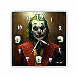 Joker (2019 film) 11 インチウォールクロック(ジョーカー(2019年映画))友達へのプレゼントに最適。あなたの家のためのオリジナルデザイン