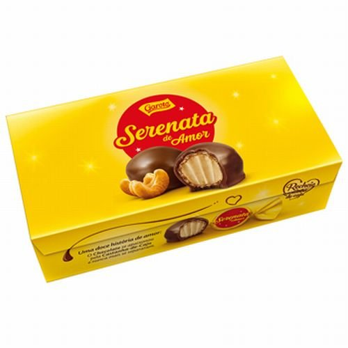 ガロット(Garoto) セレナータ デ アモール チョコレート 6箱セット 【ブラジル 海外土産 輸入 スイーツ、洋菓子】172136