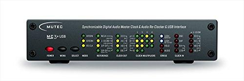 MUTEC MC-3+USB/Black (USB デジタルオーディオ・マスタークロックジェネレーター)(ブラック)
