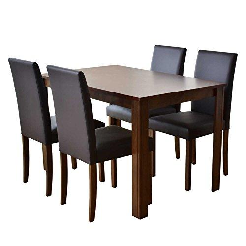 DORIS ダイニングテーブル 5点セット 幅120 テーブ...
