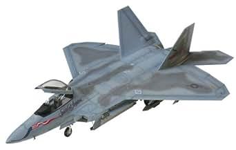 タミヤ 1/72 ウォーバードコレクション No.63 アメリカ空軍 F-22 ラプター プラモデル 60763