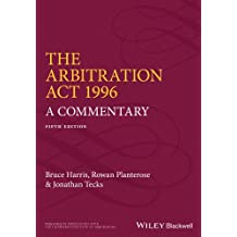 The Arbitration Act 1996 - a Commentary 5E