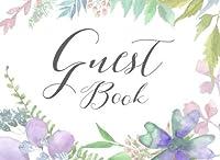 Guest Book: Watercolor Wildflower Guestbook [並行輸入品]