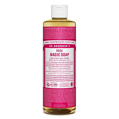 ドクターブロナー マジックソープ magic soap ローズ 473ml ネイチャーズウェイ
