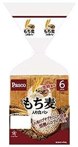 もち麦入り食パン6枚スライス [到着日+1日 賞味・消費期限保証]