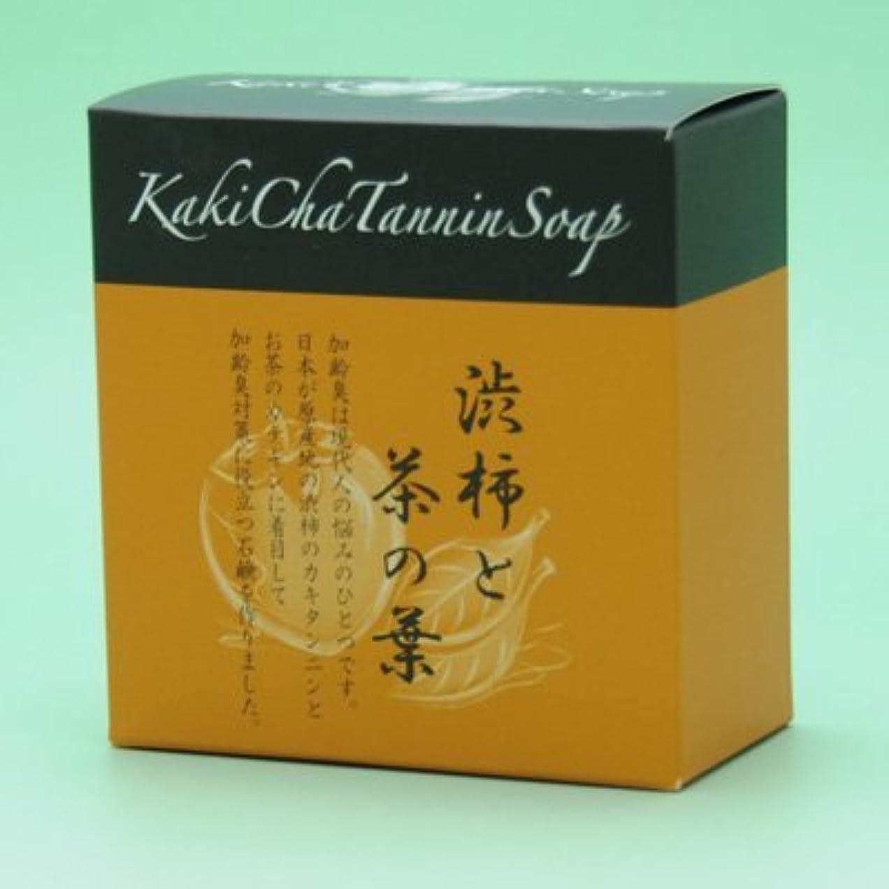 契約する拘束するお茶カキチャタンニンソープ 100g ×5個セット