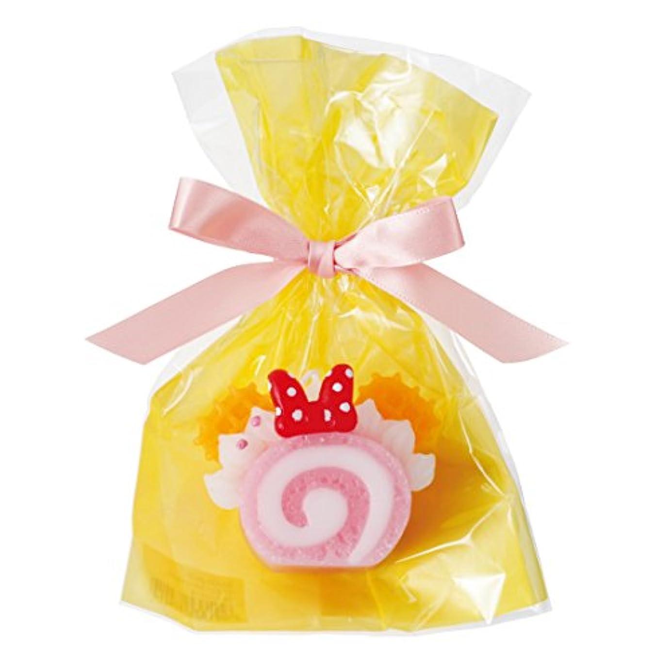 注入する観客運ぶディズニースイーツキャンドル 「 ピンクロールケーキ 」