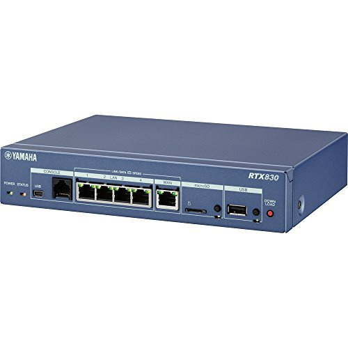 ヤマハ ギガアクセスVPNルーター RTX830 1台