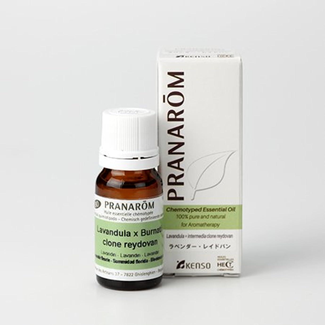 ホイールスローガン調和のとれたプラナロム ( PRANAROM ) 精油 ラベンダー?レイドバン 10ml p-99 ラベンダーレイドバン