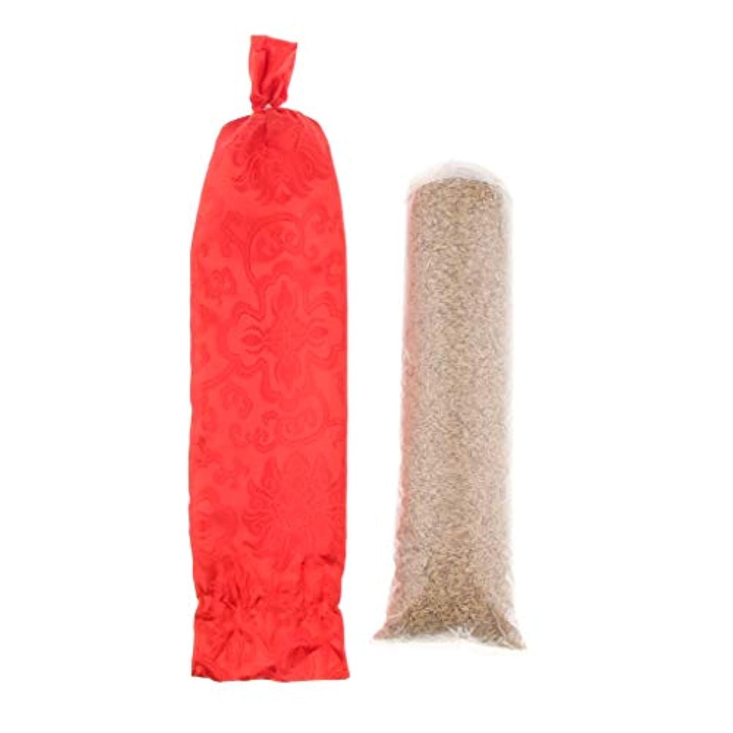 学習者尊敬する便宜ラウンド 頚部枕 ロール枕 洗濯可能なカバー サポートピロー