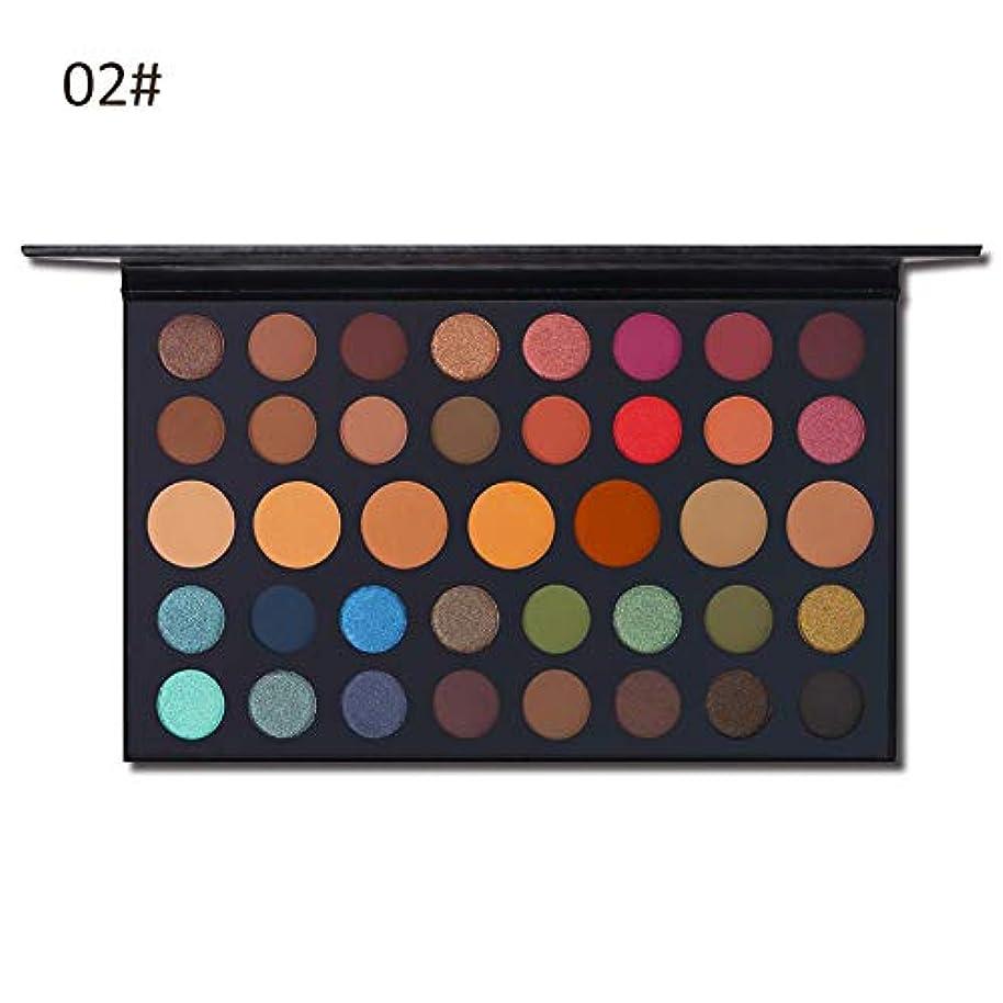 39色ヌードシマーマットアイシャドウパレット、アイメイクパウダー、防水化粧品キット 高発色 携帯便利 使用簡単