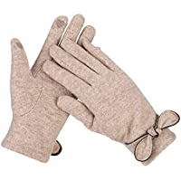 Warm Driving Gloves Winter Touch Screen Thermal Gloves For Women Cashmere Gloves