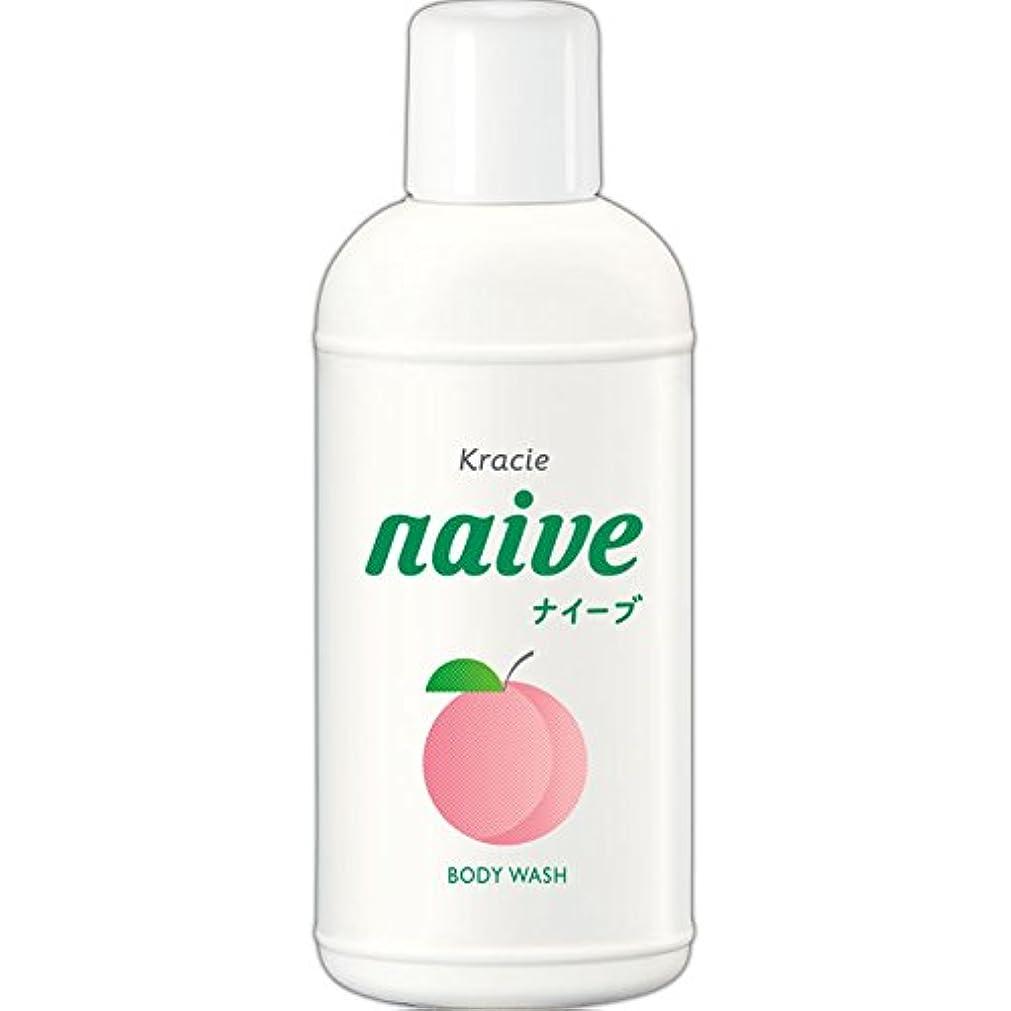 蓄積するきらめく悪いナイーブ ボディソープ 桃の葉エキス配合 80ml