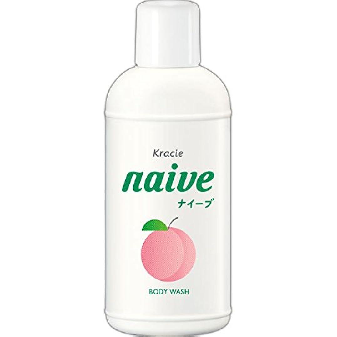 合成速いかび臭いナイーブ ボディソープ 桃の葉エキス配合 80ml